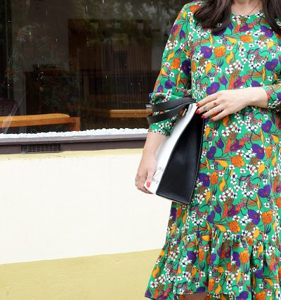 Flower Power Trend Report // Das retro Kleid a la Balenciaga