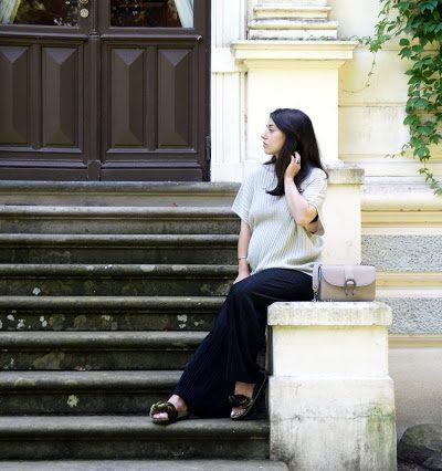 """Marie Antoinette // Dekadenz im Alltag mit Lurex Outfit, Samt Schuhe und """"look-alike"""" Dionysus Tasche"""